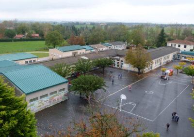 Rénovation de la cour de l'école publique