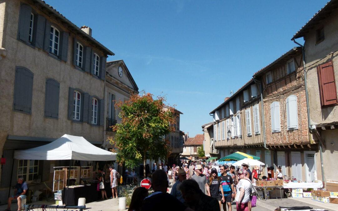 Les rues du centre bourg