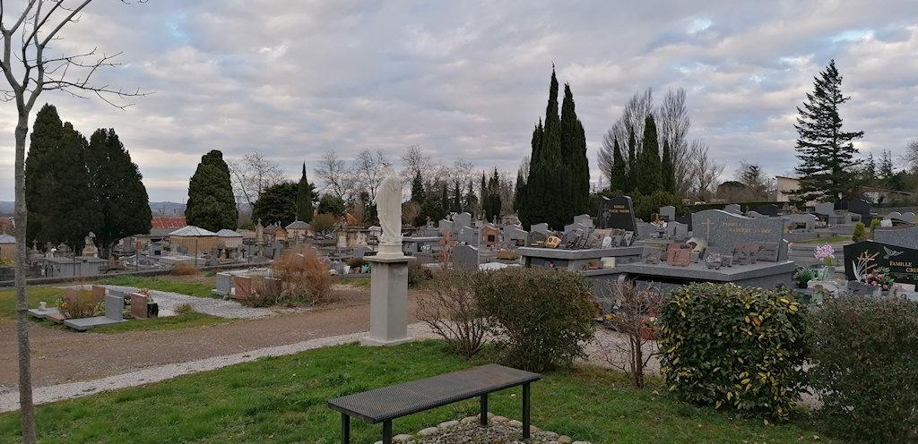 Mise en accessibilité du cimetière