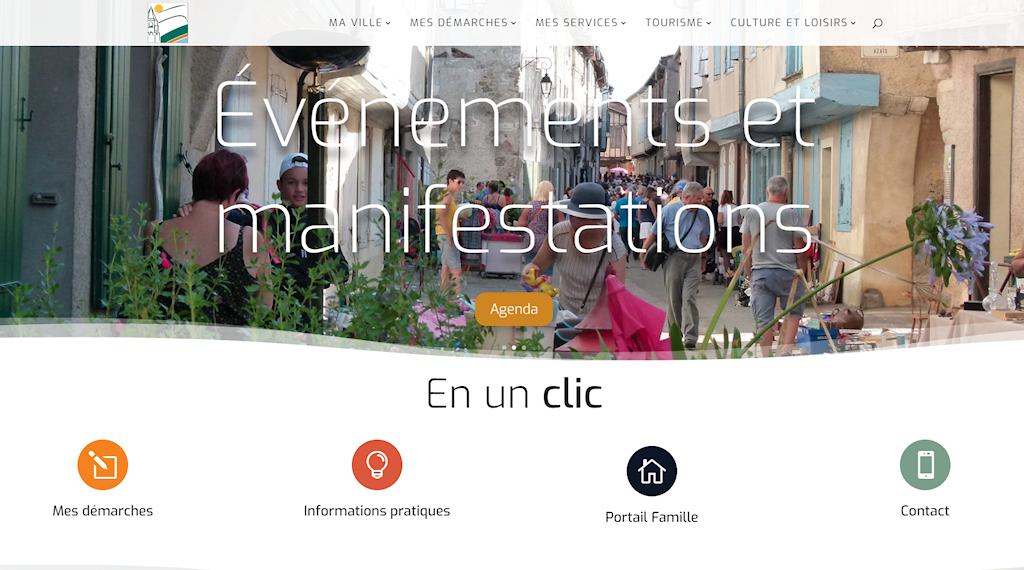 Site internet de la Commune