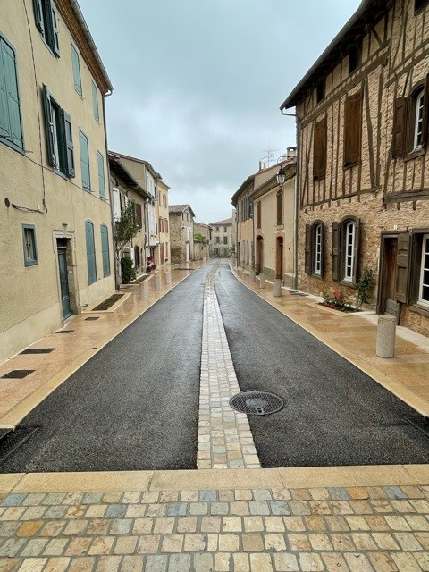 Fin des travaux : rue du Puyvert et rue Saint-Jacques