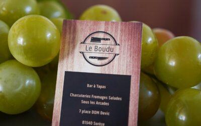 Ouverture du bar à vins, Le Boudu