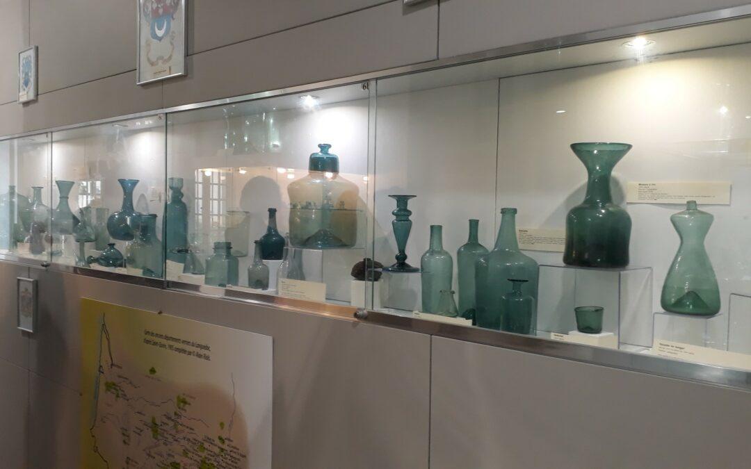 Les conseillers municipaux en visite au musée du verre