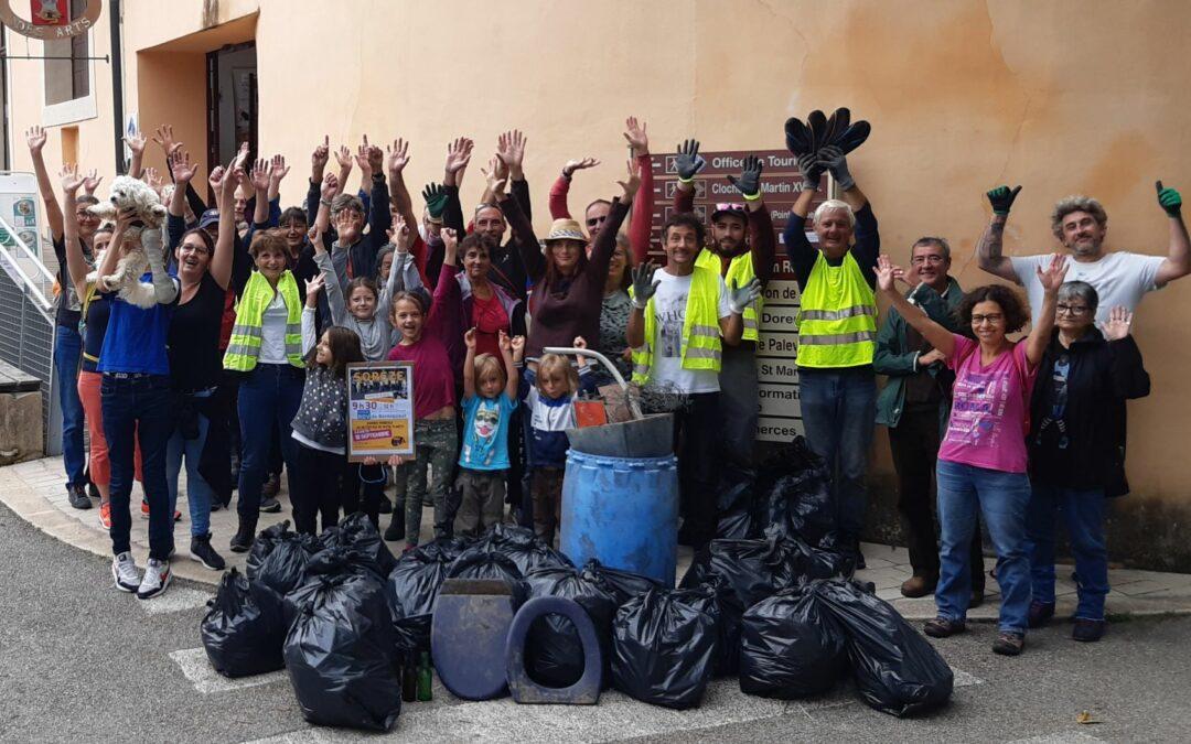 Retour sur la journée mondiale du nettoyage de notre planète 2021