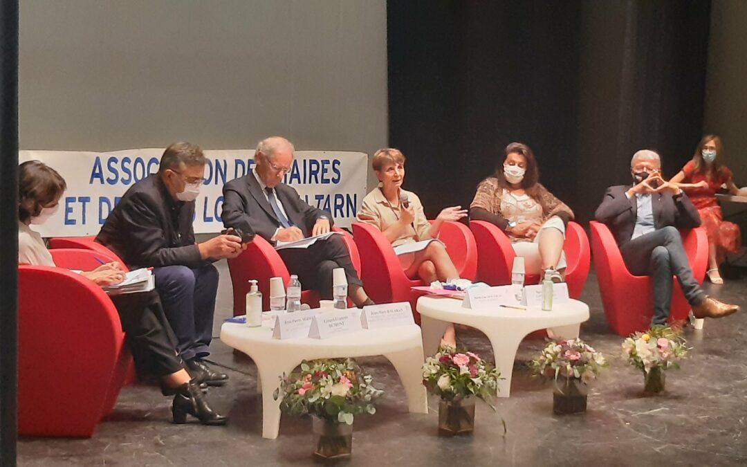 Congrès des maires et élus locaux du Tarn à Sorèze