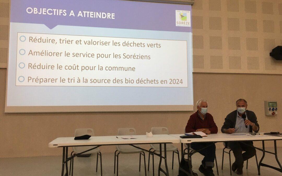 Une plateforme « déchets verts » opérationnelle à compter du 11 octobre 2021 !